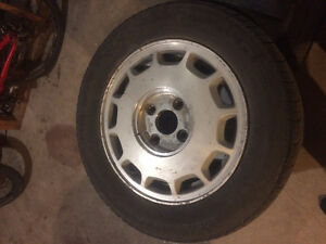 15 inch rims with tyres for sale!