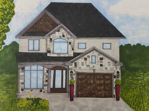 New Home Being Built in Strathroy