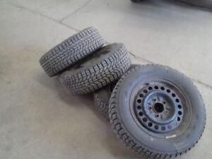 185/65r14 Toyota Corolla/Honda Civic Winter/All Season Tires+Rim