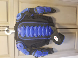 Motocross offroad chest armor
