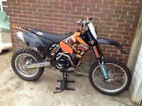 KTM EXC 450 2006 road legal mx/enduro bike
