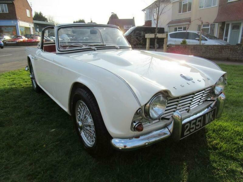 1962 Triumph Tr4 In Frenchay Bristol Gumtree