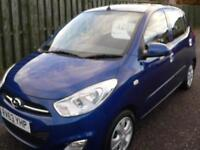 Hyundai i10 1.2 ( 85bhp ) 2011 Active Low mileage 1 previous owner