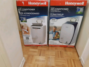 4-Brand New Portable Air Conditioners-(2 HoneyWell)(2 Hisense)
