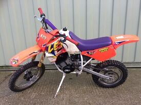 Motor bike LEMcr3 50cc Motorcross pit bike 2 stroke petrol Italian made