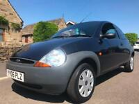 2006 FORD KA 1.3 3DR MANUAL BLACK