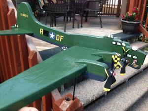 Memphis Belle B-17 Hand-crafted Whirlybird