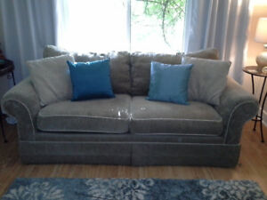 Beige Sofa, Comfy Cozy, Great Condition