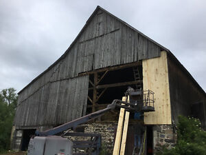 BARN PAINTING, STEEL ROOFING AND BARN REPAIRS Kitchener / Waterloo Kitchener Area image 1