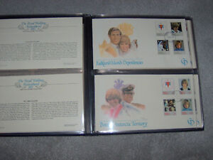 The Royal Wedding ,First Day Cover Collection