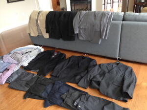 Men' Suits, Shirts, & Pants