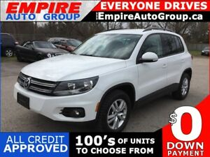 2014 VOLKSWAGEN TIGUAN 2.0 TSI * AWD * POWER GROUP * EXTRA CLEAN