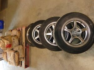 Wheels and tires for Honda Civic