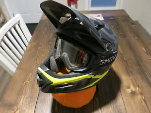 Bell Transfer 9 + Smith goggles
