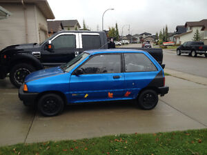 1992 Ford Festiva Coupe TRADE old classic car