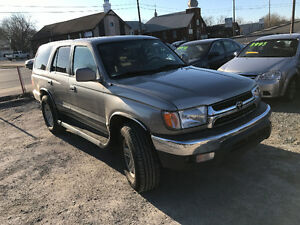 2001 TOYOTA 4RUNNER SR5 4X4 FULLY LOADED