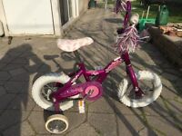 Bicycle for little girl