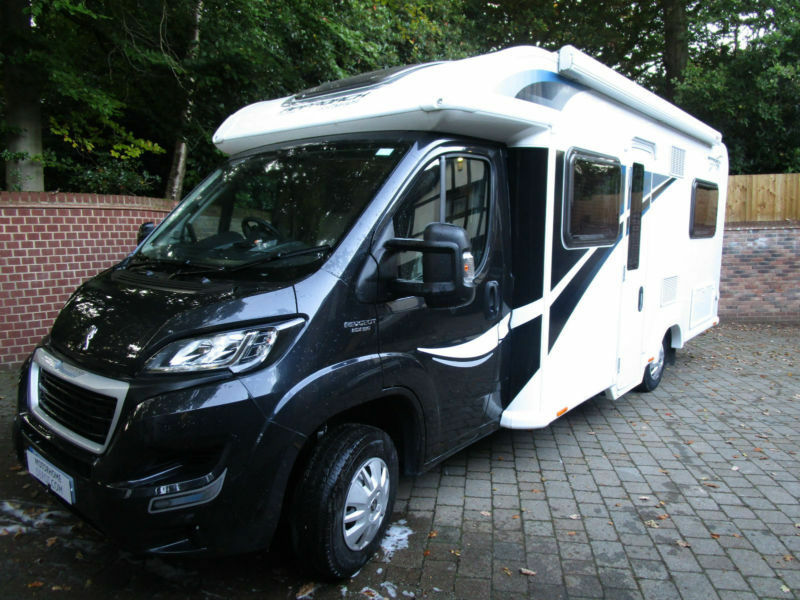 2016 Bailey Approach Autograph 745 4 Berth Fixed Bed Motorhome for Sale Re 11237