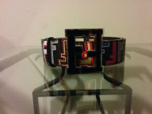 Multi colored UA Fendi Belt