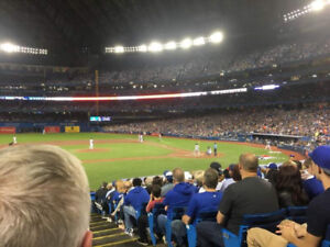 Blue Jays vs Astros September 26th-4 100 level seats , 50% off