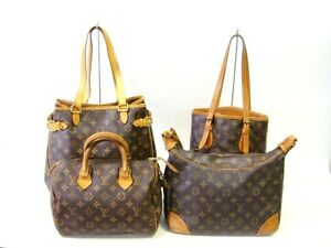 Four AUTHENTIC LOUIS VUITTON Bags Price Is For All Free Postage Hampton Bayside Area Preview