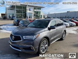 2017 Acura MDX Elite  - Navigation -  Sunroof - $278.84 B/W