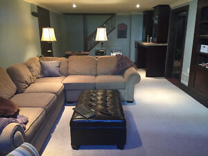 Very large 1 bed, gas fireplace, laundry, parking, inclusive