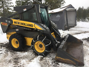 New Holland L180 Skid Steer & Attachments