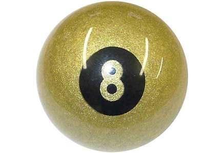 Exclusive 2 1/4  Aramith Golden 8 Ball For - Pool Balls & Billiards
