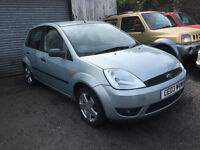 2003 Ford Fiesta 1.4 TDCi 5 Door Seagrass Green Metallic
