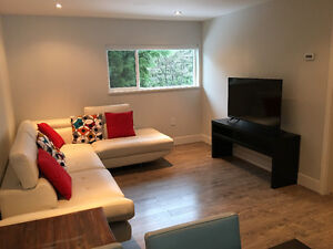 Semi-Furnished 2 Bedroom Clean and Modern Garden Level Suite