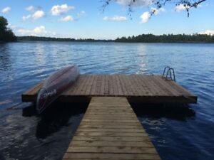 Beaver Lake cottage rental, Erinsville
