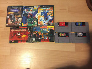 Super Nintendo and GameCube Games
