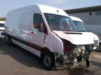 2014 Volkswagen Crafter CR35 TDi 2.0 DAMAGED REPAIRABLE SALVAGE
