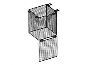 Reptile Basking Lamp Guard Bulb Cage Light Ceramic Vivarium Heat Safety 12x16cm