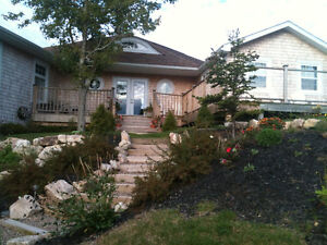 Beautiful Oceanfront Home on Quiet Country Road, Seabright,N.S