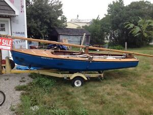 national e sailboat for sale or trade. must sell.