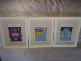 Art prints for kids room