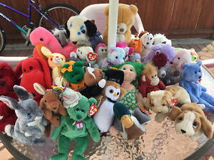 Bunch of Beanie Babies and few others