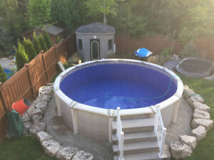 ABOVEGROUND POOLS,, FULL SALES SERVICE, INSTALLATION