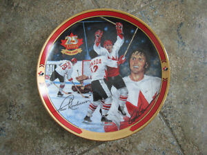 Collector Plates – Celebrating 25 Years of Team Canada