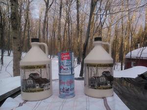 Sirop d'érable en canne et 4 litres à Ste-Claire