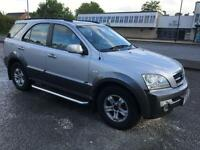 NEEDS NEW REAR AXEL KIA Sorento 2.5CRDi XS KIA MAIN DEALER HISTORY, MOT 05/2017