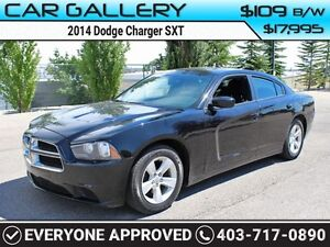 2014 Dodge Charger SXT $109B/W QUICK  EASY FINANCING-INSTANT APP