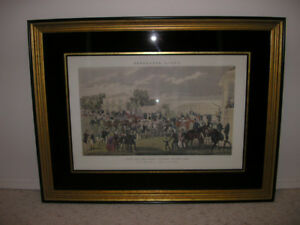 Doncaster Races: Race for the Great St. Leger Stakes, 1836