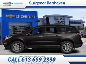 2014 Chevrolet Traverse 1LT  - Bluetooth - $171.33 B/W
