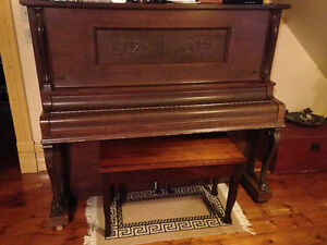 player piano with 480 rolls