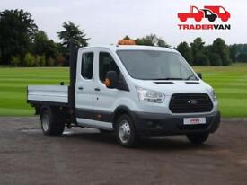 2015 FORD Transit 350 2.2 TDCi 155ps L3 Long Wheel Base Double Cab Tipper DIESEL