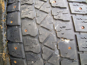 P205/55/R16 STUDDED TIRES