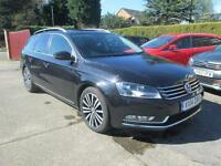 2014 VW Passat Estate 2.0 TDi Bluemotion Sport Black Sat Nav
